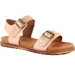 Boutique by Corkys Aria Sandal light pink metallic